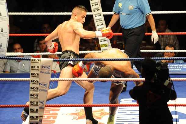 Loren Jorge kick boxing
