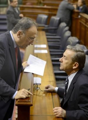 Manuel Fajardo y Paulino Rivero