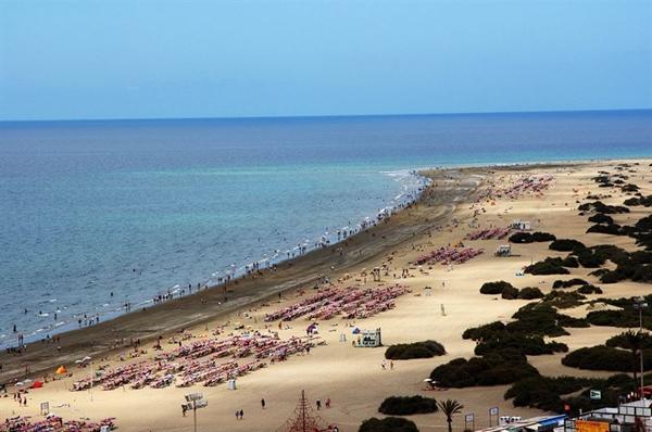 Playa del sur de Gran Canaria. |  EP