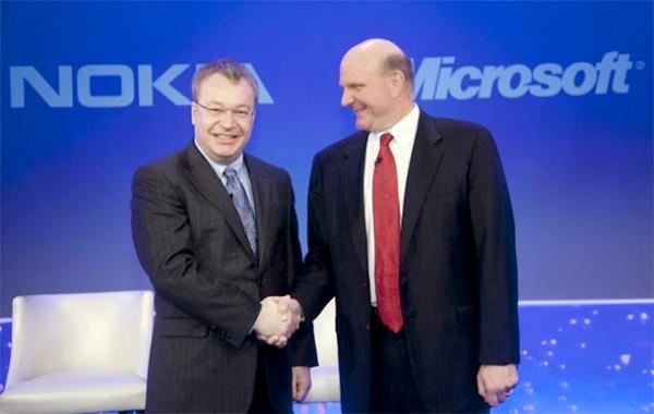 Microsoft - Nokia Stephen Elop y Steve Ballmer