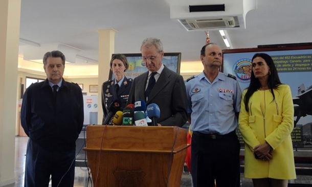 Morenes Gando Ministerio de Defensa