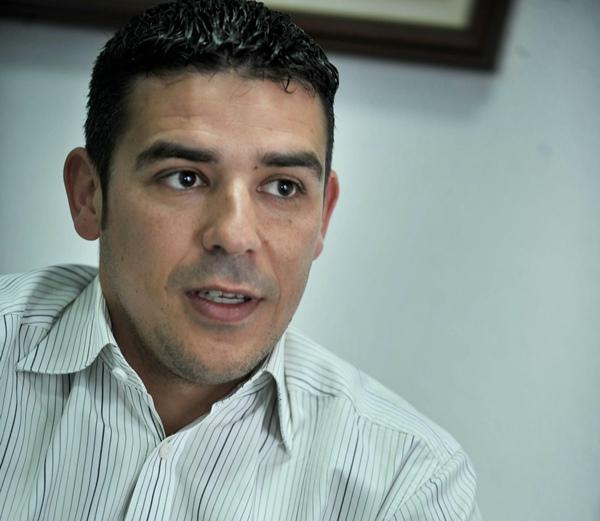 Narvay Quintero, senador de CC. / FRAN PALLERO