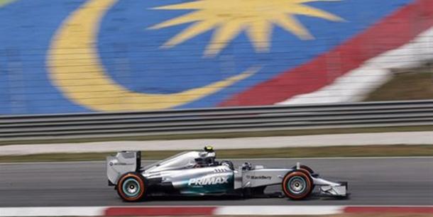 El piloto alemán Nico Rosberg (Mercedes)
