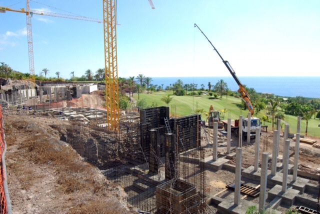 Hace menos de un año que comenzaron los trabajos en el plan parcial Club de Campo. | DA