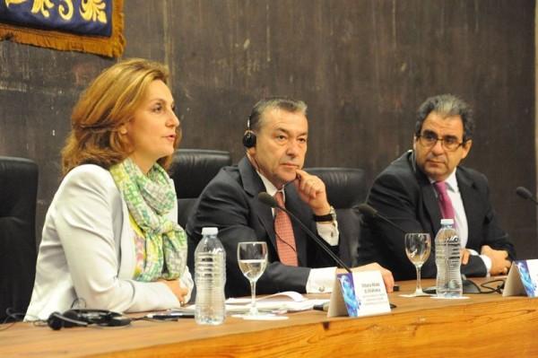 Paulino Rivero, jornadas 'Conectados a Europa: retos globales, soluciones canarias'