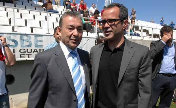 Paulino Rivero y Álvaro Cervera CD Tenerife