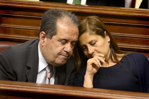 José Luis Perestelo y Claudina Morales