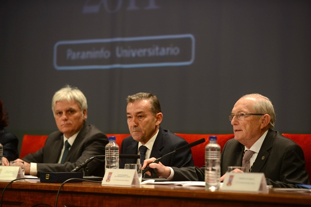 José Miguel Pérez Paulino Rivero y Eduardo Doménech