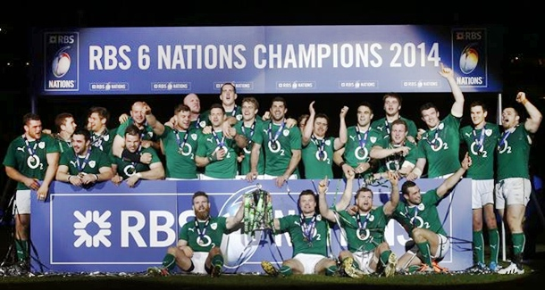 Seis Naciones de rugby Irlanda