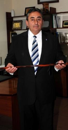 El mandatario local, Tomás Mesa, durante su toma de posesión. | M.PÉREZ