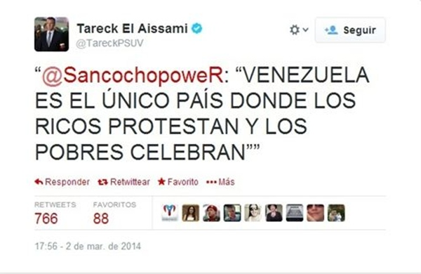 Twitter Tareck El Aissami