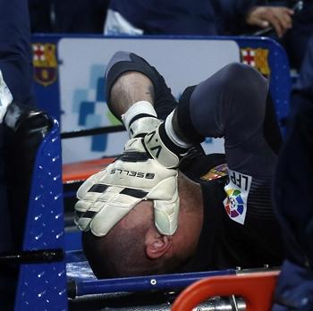 Víctor Valdés lesión