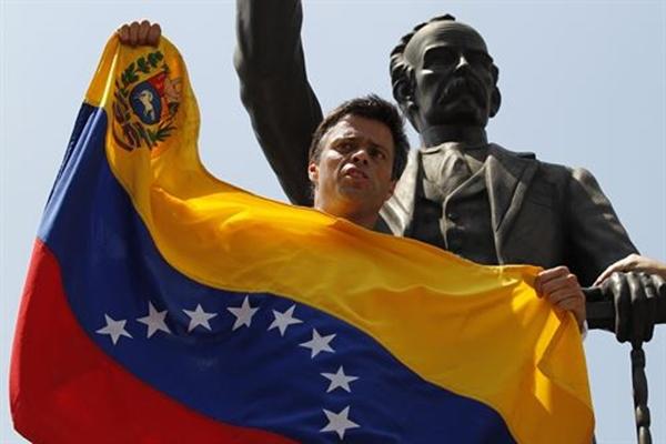 Voluntad Popular (VP) Leopoldo Lopez