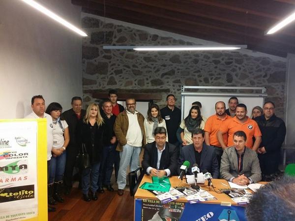 Acto de presentación de la XII Classic Villa de Tegueste-Arico, Trofeo Estación Abades los Moriscos. | DA