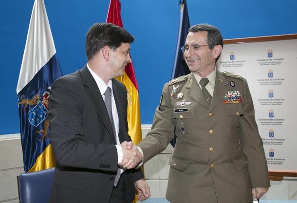 acuerdo Gobierno de Canarias y UME 1