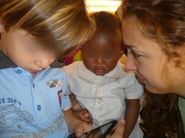adopción niña etiope Etiopía