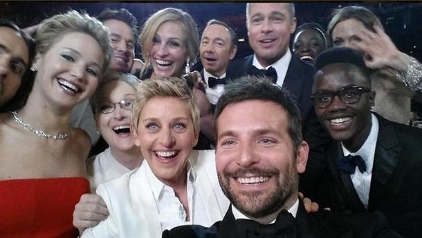 autoretrato los oscar Ellen DeGeneres