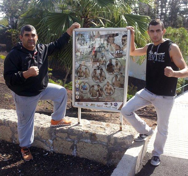 boxeo Artem Haroyan y Manuel Povedano