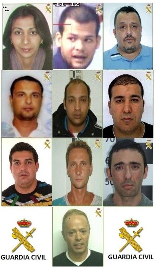 delincuentes buscados