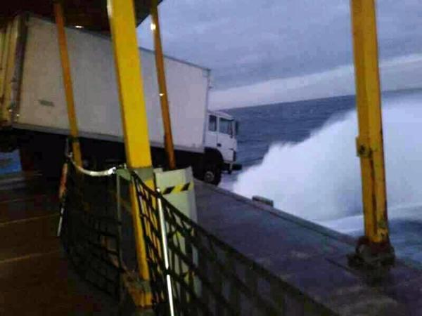 Desde el interior del barco. | DA