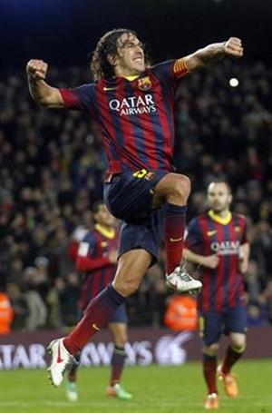 FC Barcelona Carles Puyol