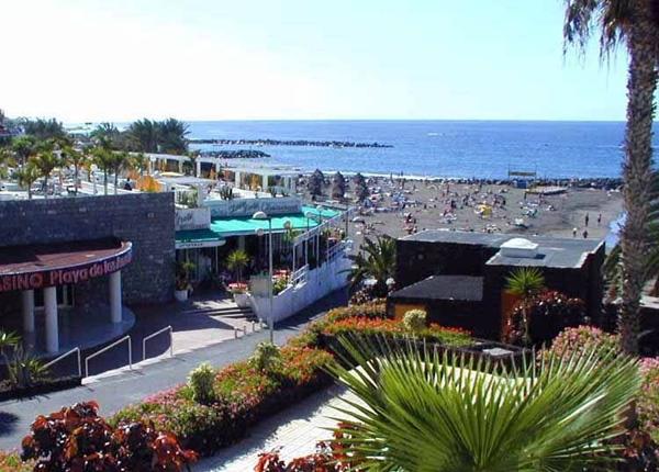 Fachada del casino de Playa de Las Américas. | DA