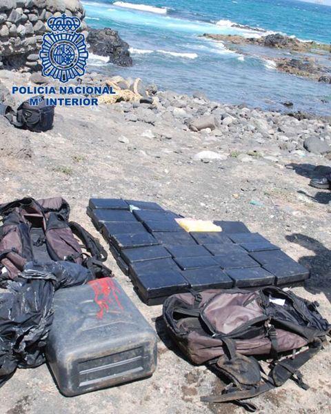 La Policía encuentra 50 kilos de cocaína en Telde
