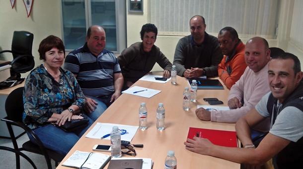 Federación Insular de Tenerife Pancho Camurria y ayuntamiento sur Tenerife