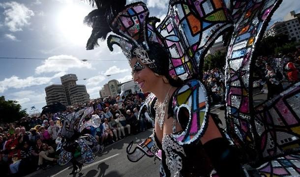 Una grada con 750 plazas para que turistas vean el carnaval en primera fila