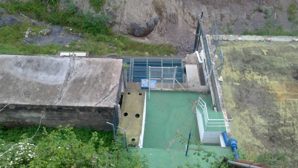 El Ejecutivo municipal no especificó ayer cuándo se instalarán los filtros en el depósito de Mar Dulce. | DA