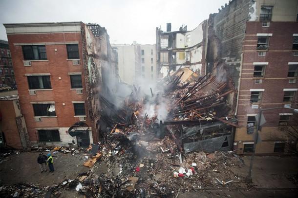 derrumbe edificios Nueva York