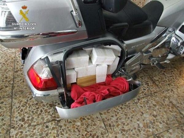 droga en motocicletas