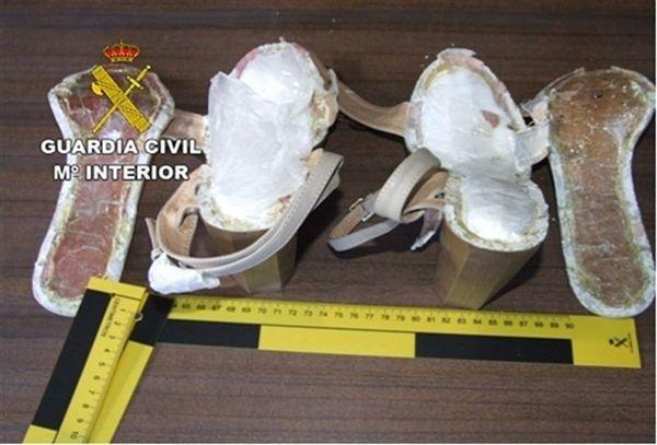 zapatos con droga venezuela