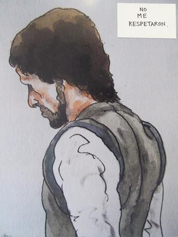 el ilustrador Luis Eduardo Fierro