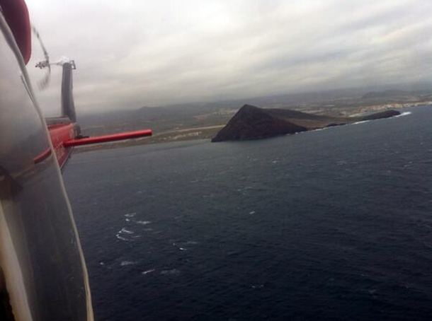 helicóptero GES búsqueda El Medano