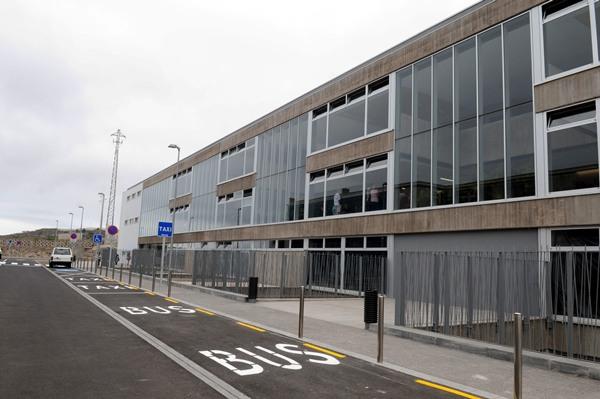 La instalación sanitaria está ubicada en la zona de Buen Paso, en Icod de los Vinos   MOISÉS PÉREZ