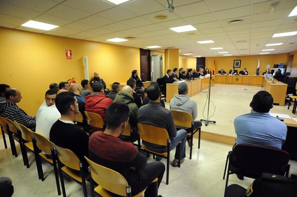 Imagen de archivo de una de las sesiones del juicio. / FRAN PALLERO