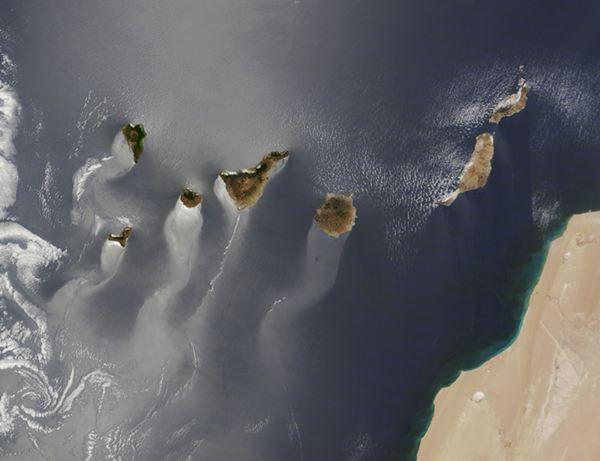 NASA Imagen de Canarias