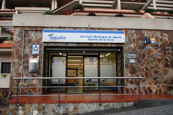 Las oficinas de Aqualia en Puerto de la Cruz están ubicadas en la zona de Playa Jardín. | MOISÉS PÉREZ