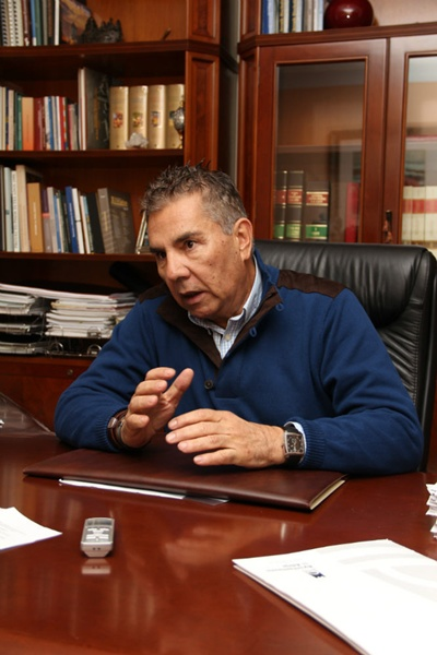 El mandatario de Adeje, José Miguel Rodríguez Fraga. | DA