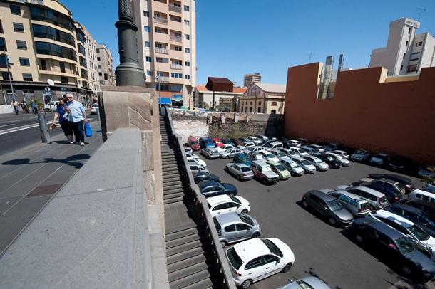 la noria aparcamiento