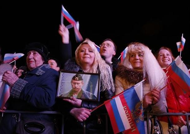 referendum en Crimea prorusos en Crimea