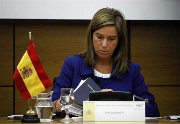 Imagen reciente de la ministra Ana Mato. / europa press