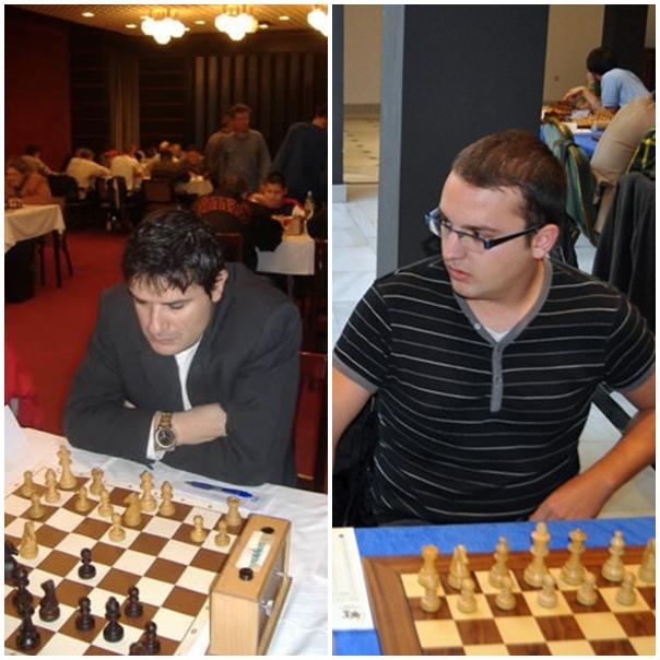 Agustín Fernández Manrique y el MI Jorge Cabrera, dos de los puntales del equipo ganador.   DA