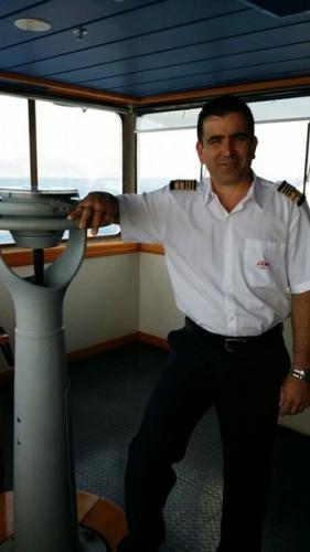 El capitán Alexander Balsa. | DA