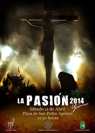Cartel Pasión Güímar 2014