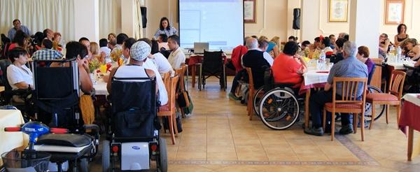 La discapacidad es un handicap a la hora de incorporarse al mercado laboral para los jóvenes isleños. / DA