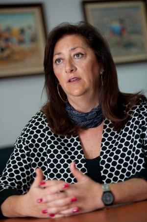 Doris Borrego, presidenta de la plataforma. | FRAN PALLERO