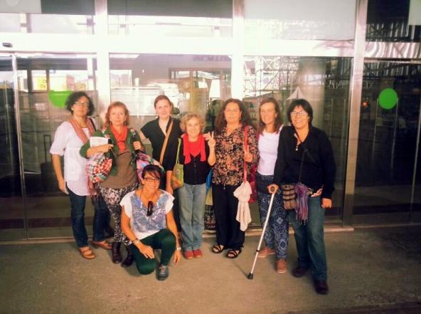 Parte de la delegación expulsada del Sáhara. | DA