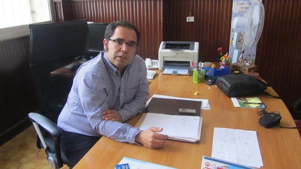 El secretario general de UGT, Gustavo Santana .   DA